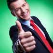 Thumbs up! - Stock Photo