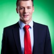 Handsome young business man — Stock Photo
