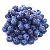 Pile of fresh blueberry fruits — Stock Photo