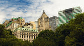 New York City - Look from battery park — 图库照片