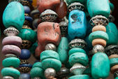 Stone beads — Stock Photo