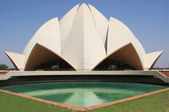 Lotus temple, delhi, india — Foto de Stock