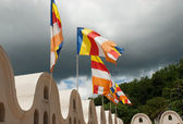 Buddhist flags — Stockfoto