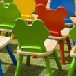 Stock Photo: Playschool chairs