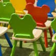 Playschool chairs — Stock Photo #11737639