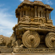 Stone chariot, Hampi — Stock Photo