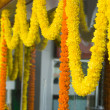 Flower garlands — Stock Photo