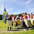 Folklore ensemble of Sweden — Stock Photo #11328834