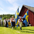 Folklore ensemble of Sweden — Stock Photo #11401710