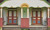 живописные двери — Стоковое фото