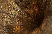 Gramophone horn closeup — Stock Photo