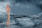 Drowning — Stock Photo