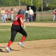 Little league baseball runner - Photo