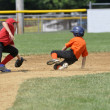 Little league baseball game - Photo
