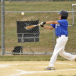 Base hit — Stock Photo