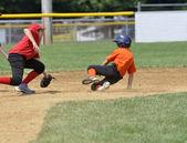 Little league honkbal spel — Stockfoto