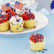 Patriotic Cupcakes — Stock Photo #10760840
