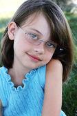 Child Wearing Glasses — Stock Photo