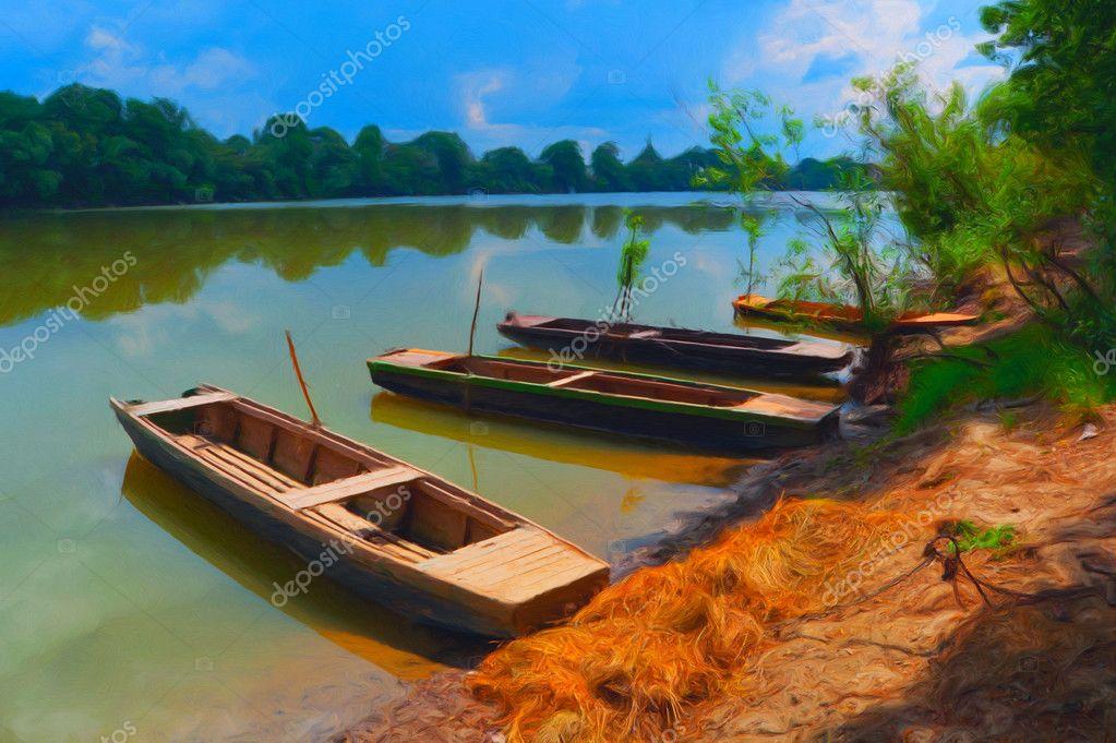 сонник надувная лодка в воде