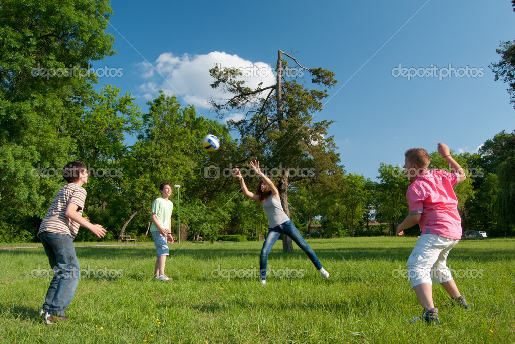 playing in the park essay