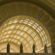 Stock Photo: Interior Archways at Union Station in Washington DC