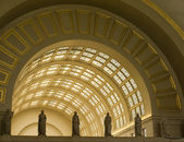 Interior Archways at Union Station in Washington DC — Stock Photo