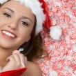 Royalty-Free Stock Photo: Christmas Candy Girl