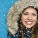 Snow Girl — Stock Photo #10739631