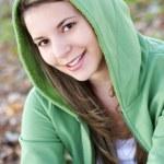Hooded Girl — Stock Photo #10962954