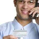 Phone Businessman — Stock Photo #10976681