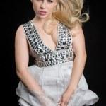 Beautiful Blond Woman — Stock Photo
