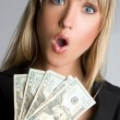 Shocked Money Woman - Photo