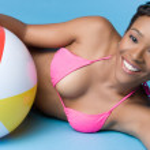 Bikini Girl — Stock Photo