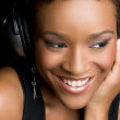 Stockfoto: Headphones Girl