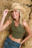 Smiling Country Girl — Stock Photo