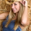 Country Girl — Stock Photo #11039734