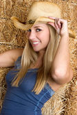 Country Girl — Stock Photo