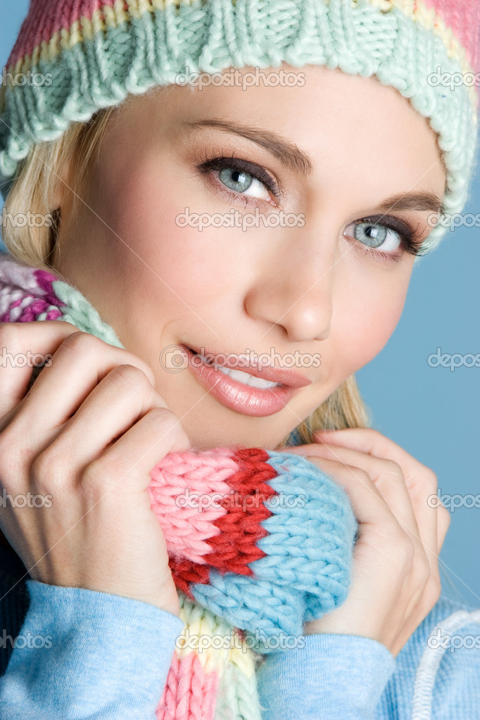 Winter Girl — Stock Photo #11039491