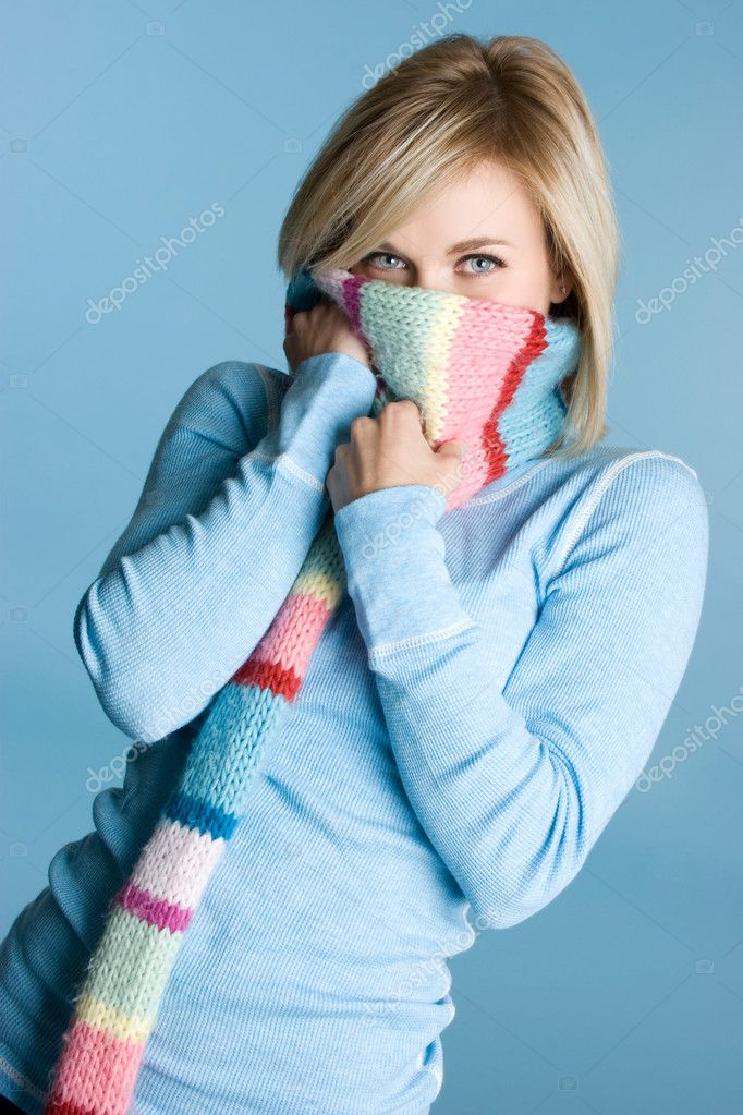 Winter Girl — Stock Photo #11039499