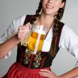 Beer Girl — Stock Photo #11040236