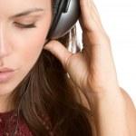 Girl Listening to Music — Stock Photo #11371655