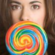 Stock Photo: Lollipop Girl