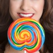 Lollipop Girl — Stock Photo