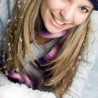 Winter  Woman - Stockfoto