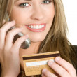 Credit Card Woman — Stock Photo #11385089