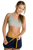 Weight Loss Girl — Stock Photo