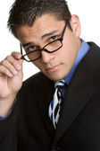 Businessman Wearing Glasses — Stock Photo