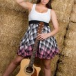 Country Music Girl — Stock Photo