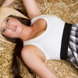 Beautiful Country Girl — Stok Fotoğraf #11429812