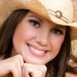 Beautiful Country Girl — Stok Fotoğraf #11429827